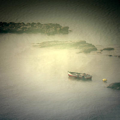 Enigmatic Photograph - Fishing Boat by Joana Kruse