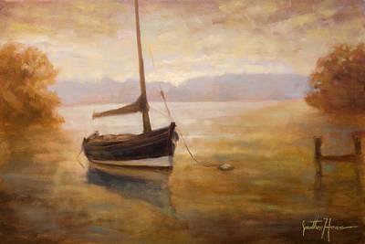 Fishing Boat Art Print by Jonathan Howe