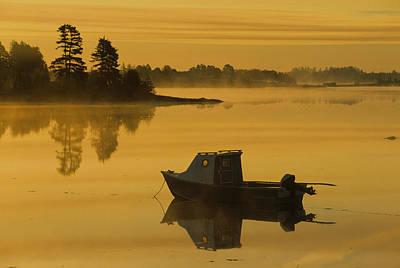 Mayfield Photograph - Fishing Boat, Mayfield, Prince Edward by John Sylvester