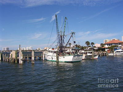 Sandy Owens Photograph - Fishing Boat by Sandy Owens