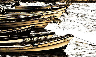 Photograph - Fishing Boats by Daniel Marcion