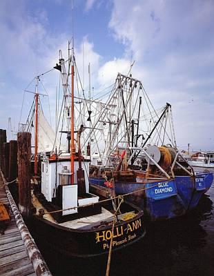 Photograph - Fishing Boats by David Campione