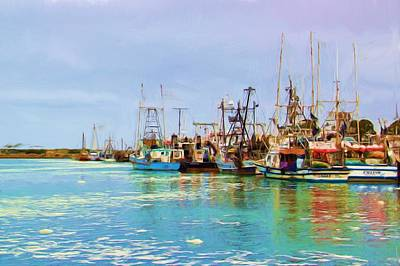 Photograph - Fishing Boats by Heidi Smith