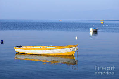 Fishing Boats Art Print by Marija Stojkovic
