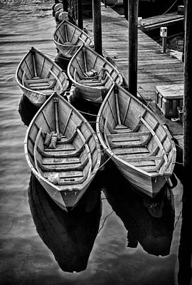 Photograph - Fishing Dories by Fred LeBlanc