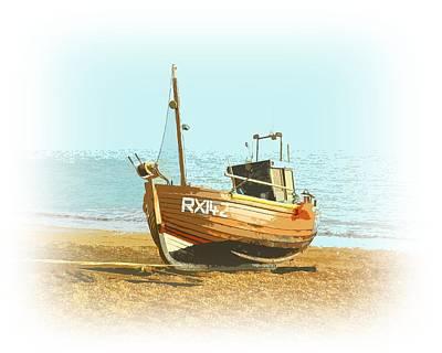 Angling Photograph - Fishing Fleet by Sharon Lisa Clarke