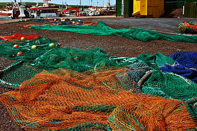 Photograph - Fishing Gear by Edward Peterson