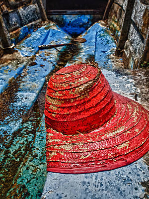 Photograph - Fishing Hat by Daniel Marcion
