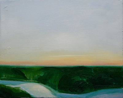 Fishing In The Midnight Sun. Original by Ingimar Waage