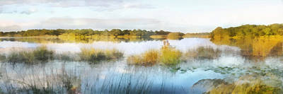 Digital Art - Fishing Lake by Francesa Miller