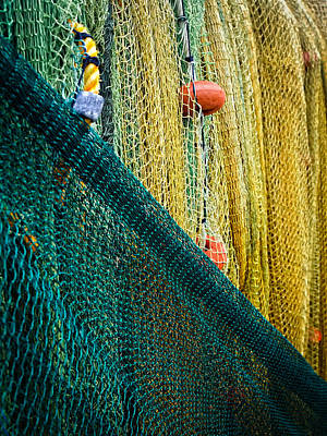 Photograph - Fishing Nets by Daniel Marcion
