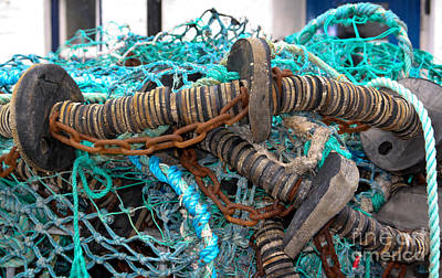 Photograph - Fishing Nets by Jo