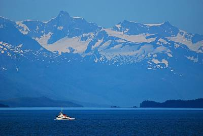 Photograph - Fishing The Inside Passage by Eric Tressler