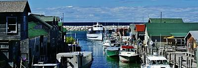 Burland Photograph - Fishing Town by Burland McCormick
