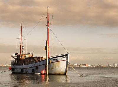 Art Print featuring the photograph Fishing Trawler by David Harding