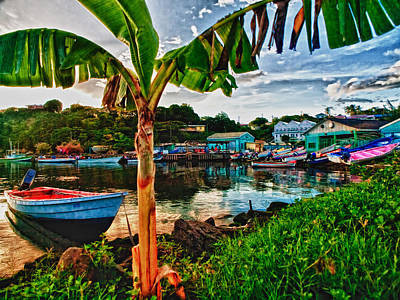 Photograph - Fishing Village by Daniel Marcion