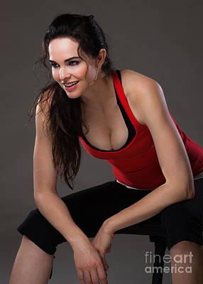 Beautiful Woman Photograph - Fitness by Johan Larson
