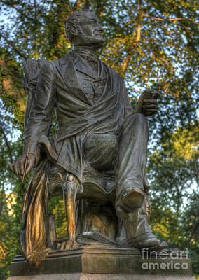 Photograph - Fitz Greene Halleck In Central Park by Lee Dos Santos