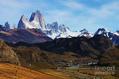 Fitz Roy Art Print by Bernard MICHEL