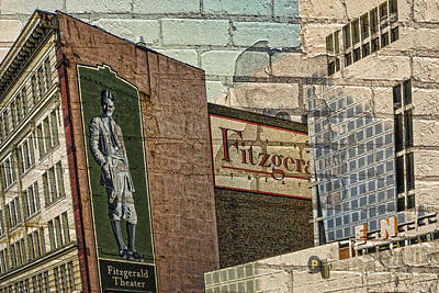 Photograph - Fitzgerald Theater St. Paul Minnesota by Susan Stone