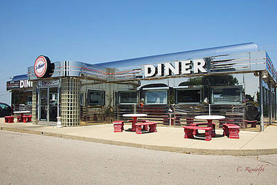 Photograph - Five And Diner by Cheri Randolph