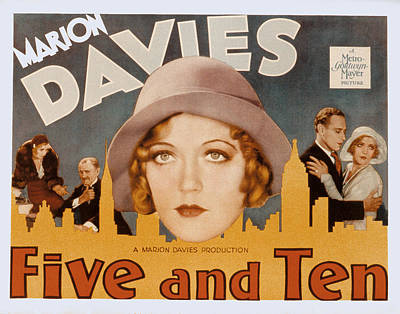 1931 Movies Photograph - Five And Ten, Marion Davies, Richard by Everett