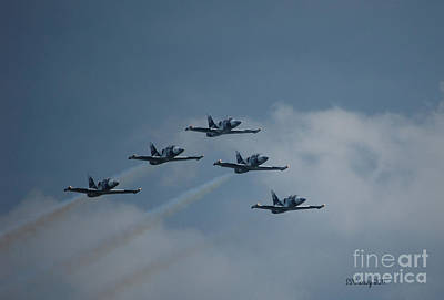 Five Man Formation Art Print