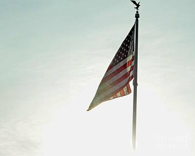 Flag Art Print by Billie-Jo Miller