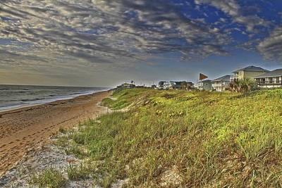 Photograph - Flagler Beach Cloudy Day by Alice Gipson
