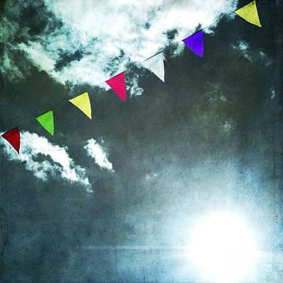 Flutter Photograph - Flags by Bernard Jaubert