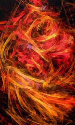 Flamboyance Art Print by RochVanh