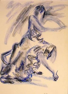 Flamenco Dancer 3 Art Print