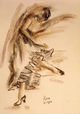 Flamenco Dancer 5 Art Print