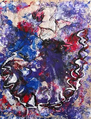 Painting - Flamenco Dancer 6 by Koro Arandia