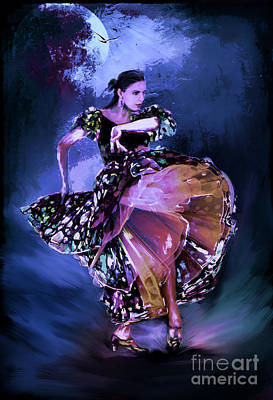 Flamenco In The Moonlight Original