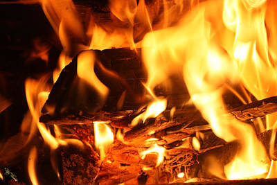 Flames 1 Art Print