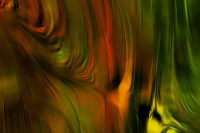 Tangerine Digital Art - Flaming Color by Bonnie Bruno