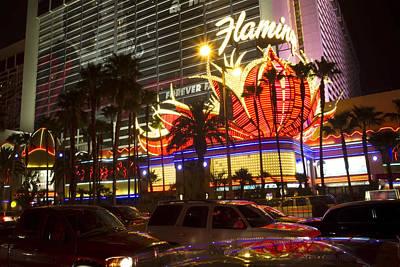 Flamingo Hotel Wall Art - Photograph - Flamingo Hotel On The Vegas Strip by Sven Brogren