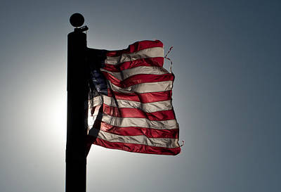 Photograph - Flappin Old Glory by Keith Sanders
