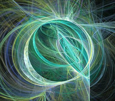 Digital Art - Flares by Ricky Barnard