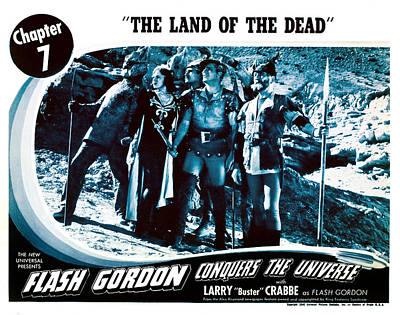 Flash Gordon Conquers The Universe Art Print by Everett