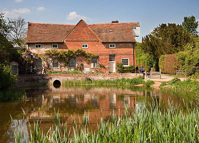 Photograph - Flatford Mill by Ian Merton