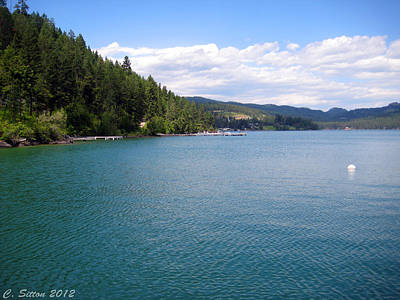 Photograph - Flathead Lake by C Sitton