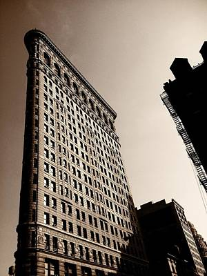 Architecture Photograph - Flatiron Building - New York City by Vivienne Gucwa