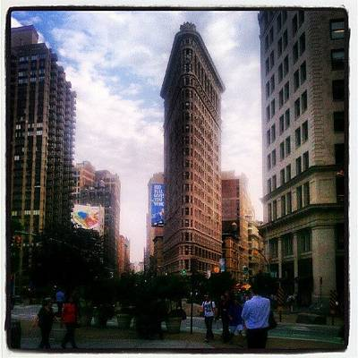 Icon Photograph - #flatiron #building #nyc #architecture by Steven Young