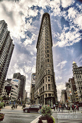 Print featuring the photograph Flatiron From The Point by Vicki DeVico
