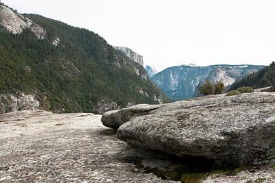 Photograph - Flattop Rock Yosemite by Lorraine Devon Wilke