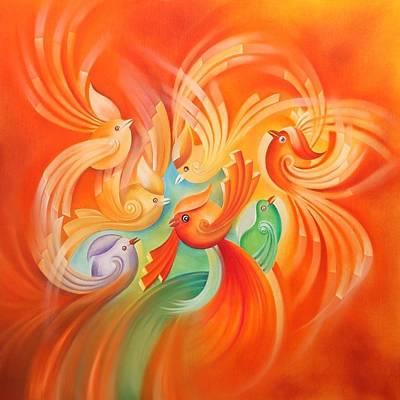 Flayer Art Print by Mohsen Mousavi