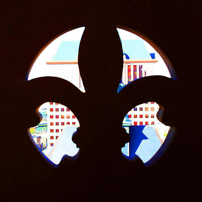 Digital Art - Fleur De Lis City Hall by Geoff Strehlow