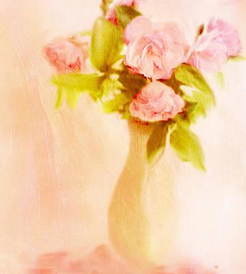 Fleurs Pastel Art Print by Linde Townsend